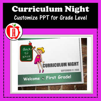 Back to School Curriculum PowerPoint