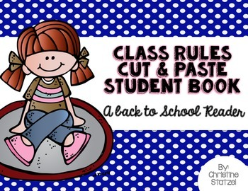 Back to School Cut & Paste Student Book (a back to school reader)