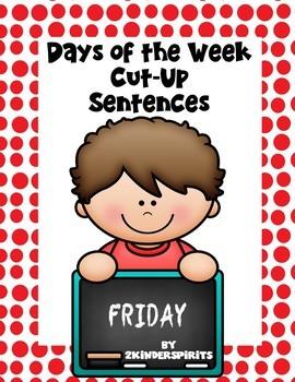 Back to School Cut-Up Sentences Bundle