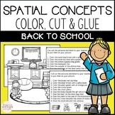 Back to School  Cut and Glue Language Activities- Mini Packet