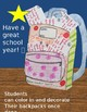 Back to School Cut and Paste Activity *Free* *Editable*