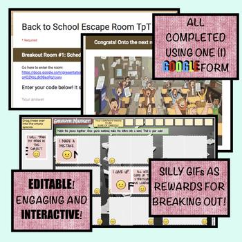 Back to School: DIGITAL Breakout / Escape Rooms