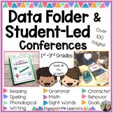 Student Led Data Folder / Binder and Student Led Conference Low Prep