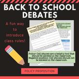 Back to School Debate Bundle