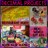 Back to School Decimal Projects