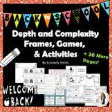 Back to School Depth and Complexity Frames, Games, and Act