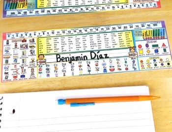 Editable Name Tags | Editable Name Plates | Desk Name Tags with ELL Option