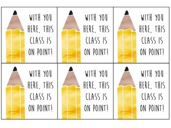 Back to School Desk Notes - Target Adhesive Labels