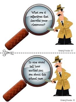 Back to School Detective