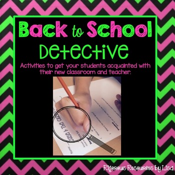 Back to School Detectives