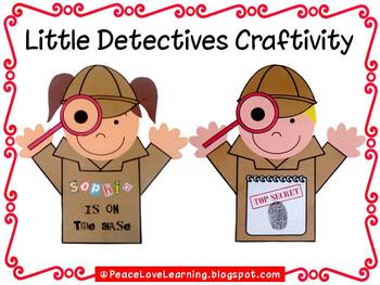 Back to School Detectives Craftivity