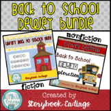 Back to School Dewey Bundle