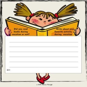 Opinion Writing Prompts:Back to School