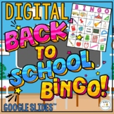 Back to School Digital Bingo | Classroom Reward Game
