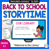 Back to School Library Lessons | Storytime | Distance Learning