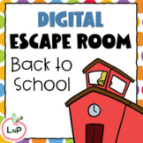 Back to School Digital Escape Room to Strengthen Critical