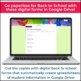 Back to School Digital Student Information Forms