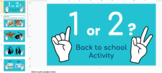 Back to School Digital Get to know you Game