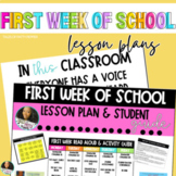 Back to School Digital Lesson Plans  Activities & Read Alo