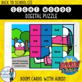 Back to School Digital Sight Word Puzzles BOOM Cards (2)