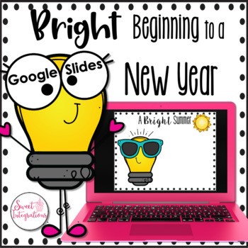 Back to School Digital Slideshow | Google Slides All About Me