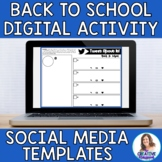 Back to School Digital Social Media Templates