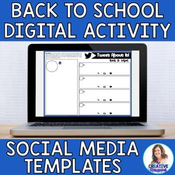 Back to School Digital Social Media Templates