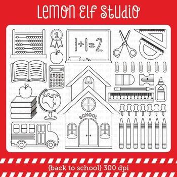 Back to School-Digital Stamp (LES.DS17)