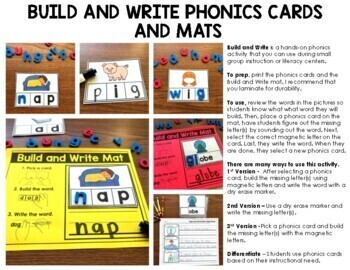 Digraphs Build and Write Phonics