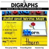 Digraphs (SH, TH, PH, WH and CH) Phonics Cards