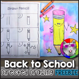 Back to School Directed Drawing FREEBIE