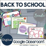 Back to School Activities Distance Learning