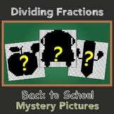 Dividing Fractions Fun Activity Back To School Math Homework Coloring Pages