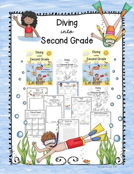 Back to School Diving into Second Grade