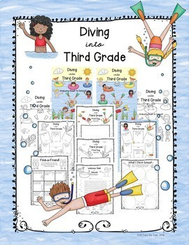 Back to School Diving into Third Grade