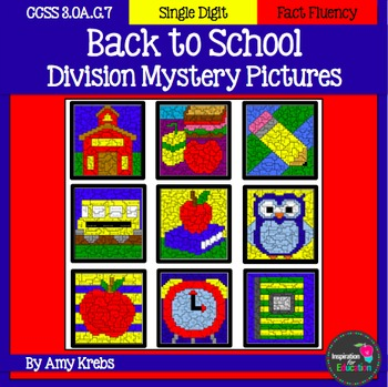 Back to School Division Mystery Pictures