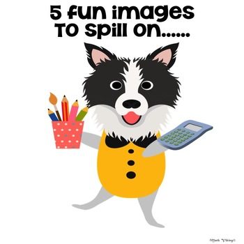 Back to School Dogs SHAKE & SPILL K-2 Composing + recording FREEBIE