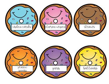 Back to School Donations Wishlist-Donut Edition