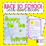 "Getting to Know You Activity: Technology themed ""Appy to be back"""