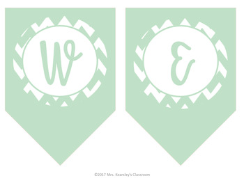 Welcome Back Banner! Back to School Printable (Mint)