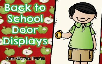 Back to School Door Displays