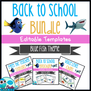 Back to School - Dory Themed Bundle