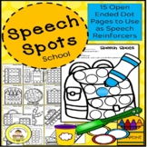 Back to School Dot Marker Activities for Speech Therapy