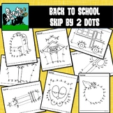 School / Back to School Dot to Dots Skip Counting by 2