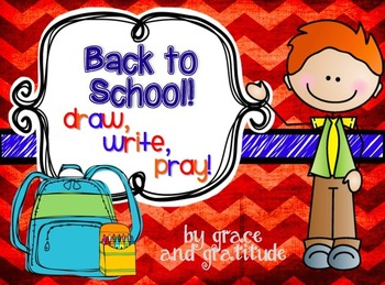 Back to School: Draw, Write, Pray!