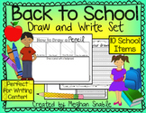 Back to School- Draw and Write- Directed Drawings