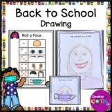 Back to School All About Me Drawing Activity