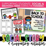 Back to School Covid-19 | Social Story and Activities