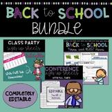Back to School EDITABLE Forms & EDITABLE Template Bundle