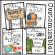 Back to School EDITABLE Classroom Rules (Camp Theme)